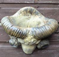 Rams Head Wall planter plaque